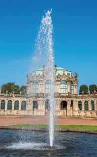 Sprinbrunnen am Dresdner Zwinger