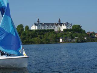 Segelboote auf dem Plöner See